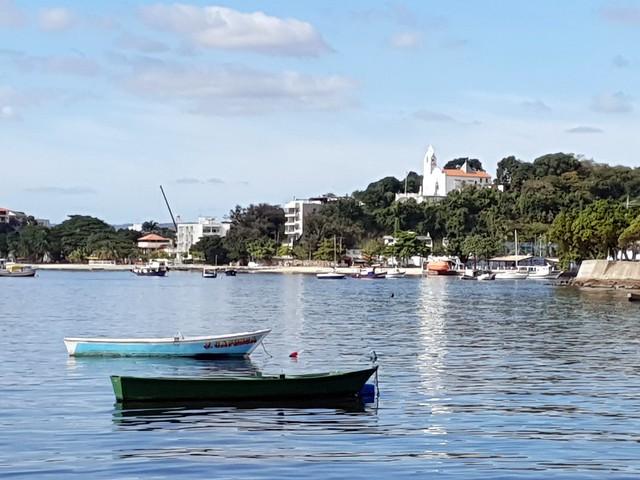 Praia das Pitangueiras. Ilha do Governador.  Rio de Janeiro.  Brasil