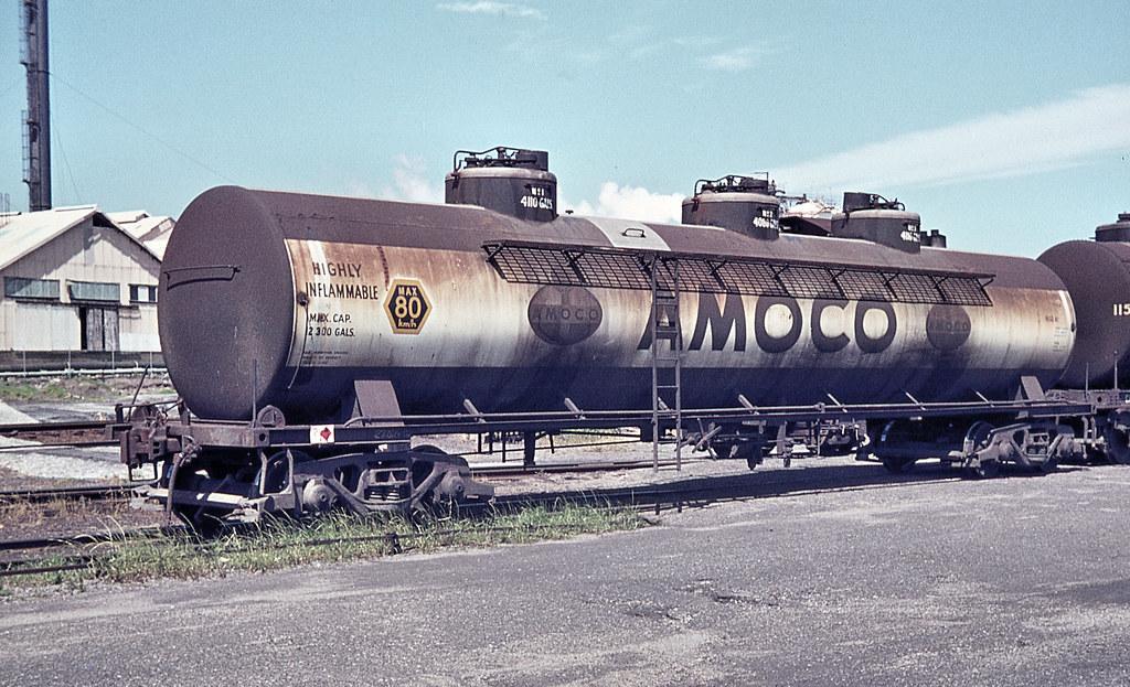 Amoco Rail Tank Wagon, Botany, NSW.