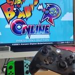 スーパーボンバーマンRのために、Nintendo SwitchへXboxコントローラーを繋ぐ