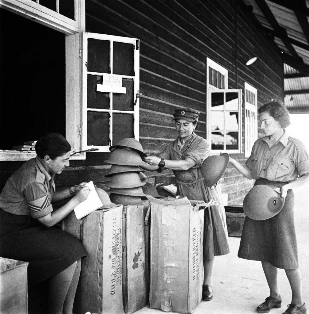 22. 1942. Вспомогательный женский корпус. Учёт на складе