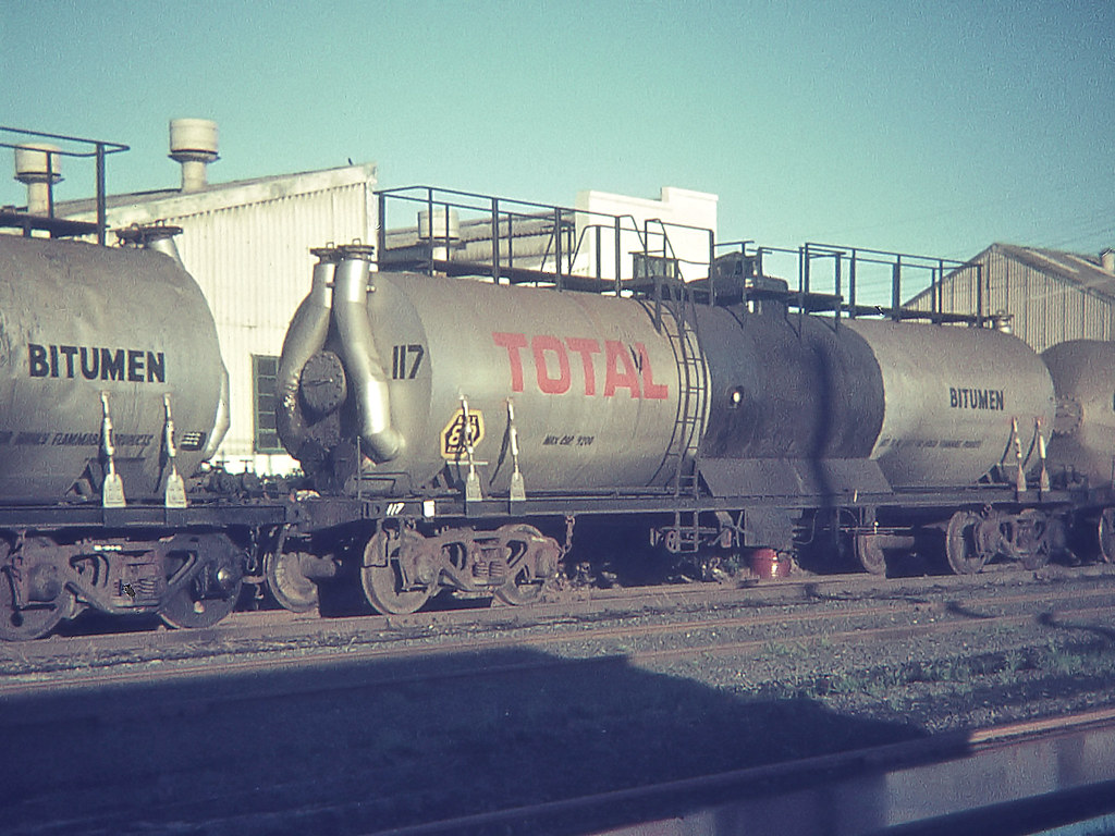 Total Bitumen Tank Car, Botany, NSW.
