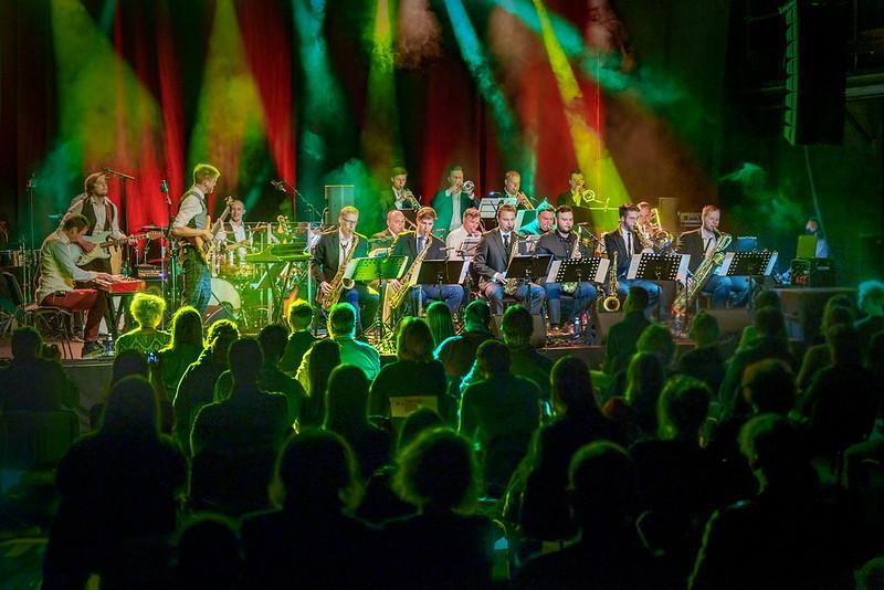JT Conception ja New Wind Jazz Orchestra