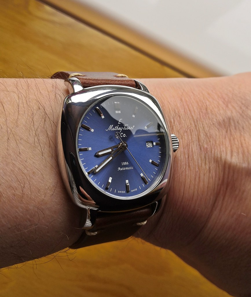 Mathey-Tissot  'Lord Collection' (Cal M1-11 Incabloc)