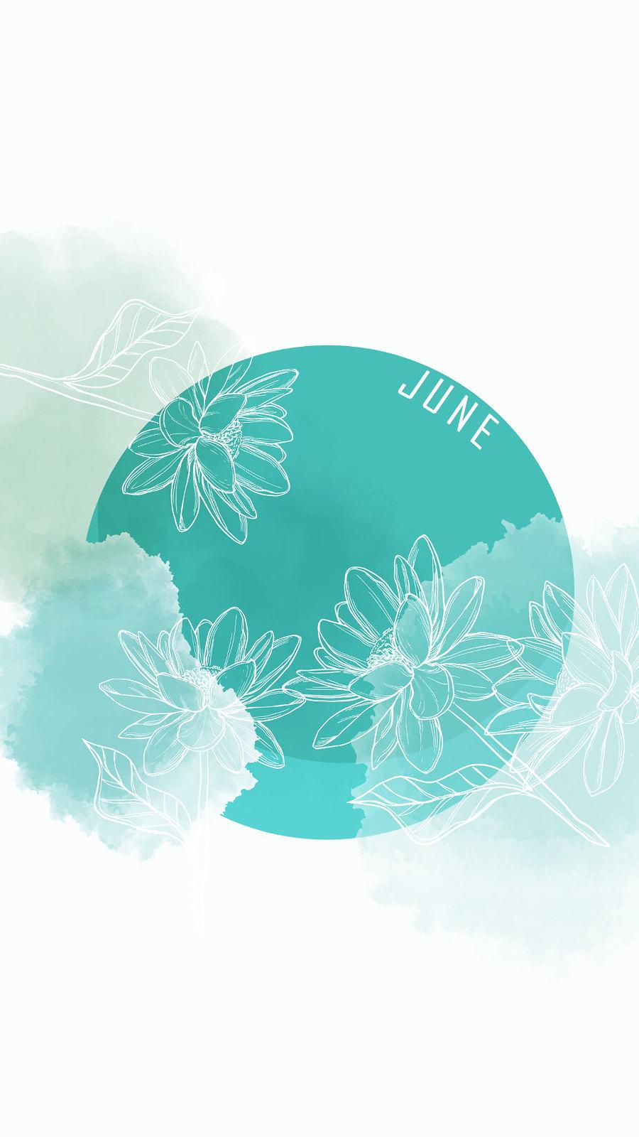 календарь на июнь '21, заставка на смартфон, district-f.org 7