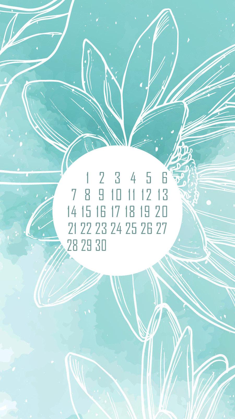 календарь на июнь '21, заставка на смартфон, district-f.org 1