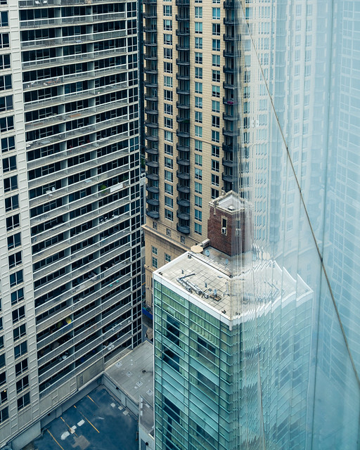 Cityscape reflections