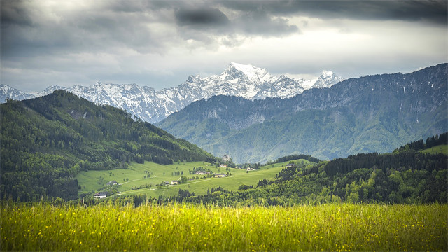_DSC32830 Thunderstorm mood across the Priel Mountain group / Upper-Austria