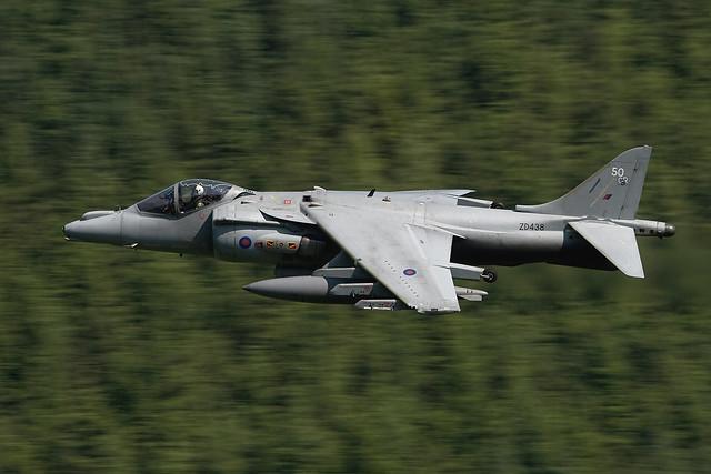 Harrier GR9/ZD438/50