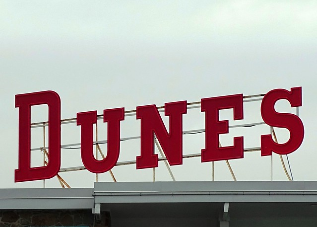 MD, Ocean City-Dunes Court Scaffold Sign