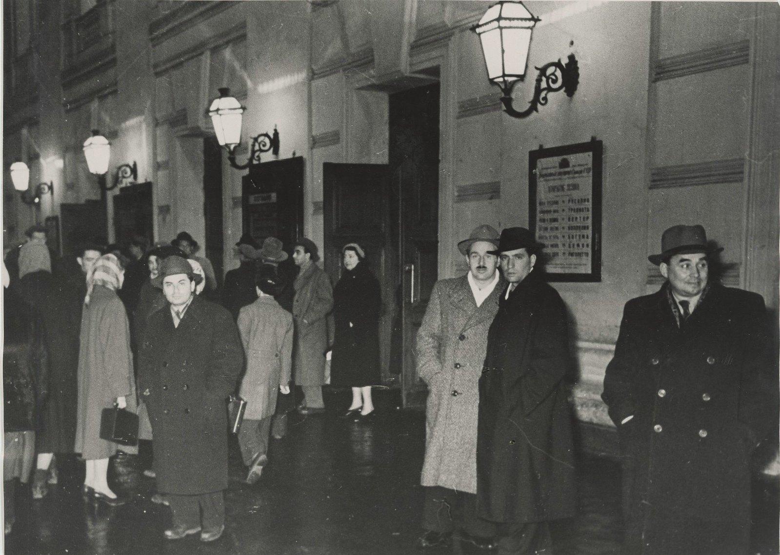 1950-е. У Большого театра