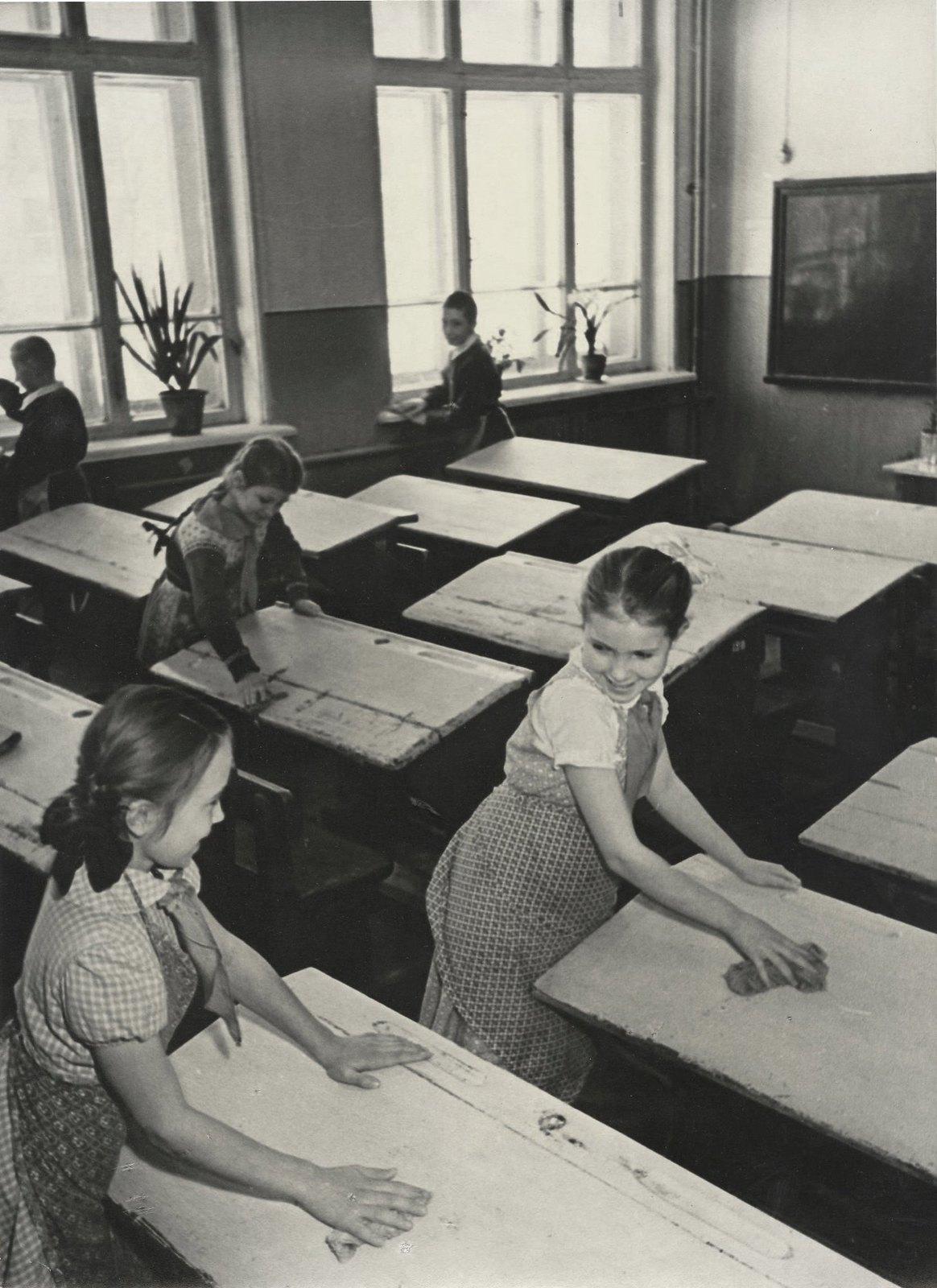 1950. Уборка класса