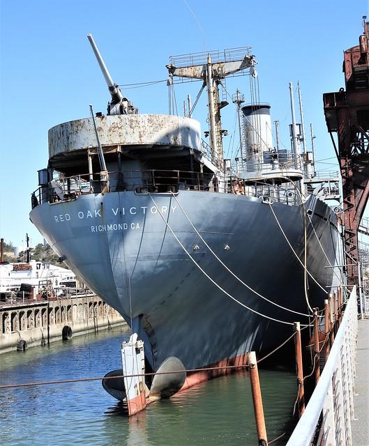 Port Of Richmond~~ammo ship Red Oak Victory
