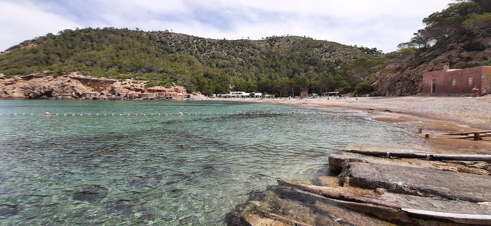 Cala Benirrás, Ibiza, 27 de mayo 2021