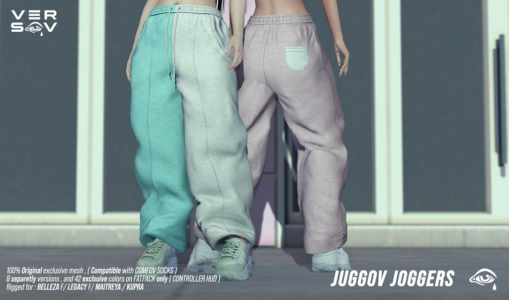 [ Versov // ]  JUGGOV JOGGERS available at UBER event !