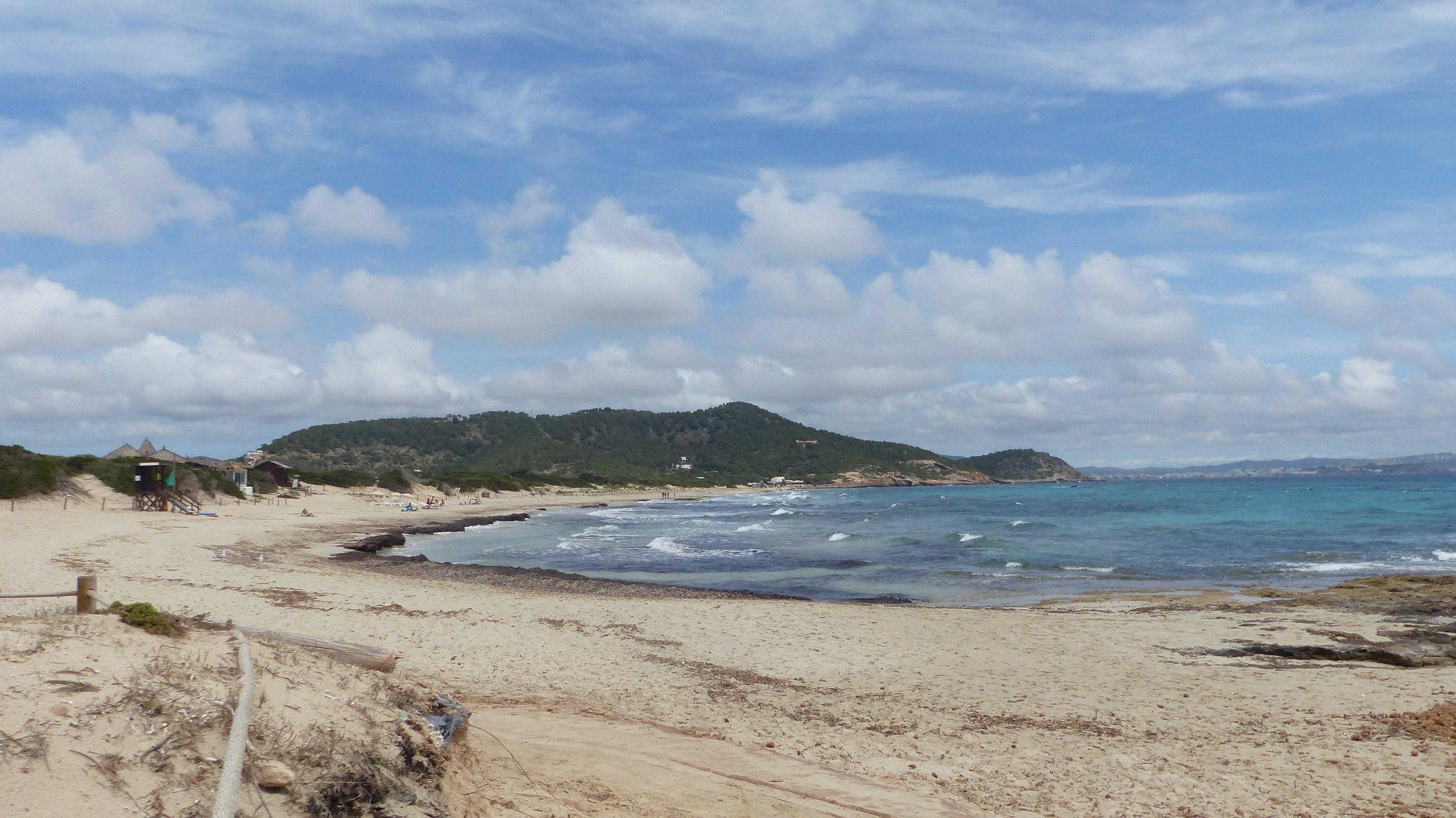 Platja des Cavallet, Ibiza, 25 de mayo 2021