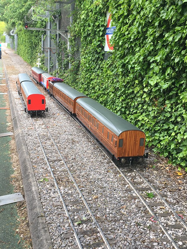 London Transport Miniature Railway, Acton Depot