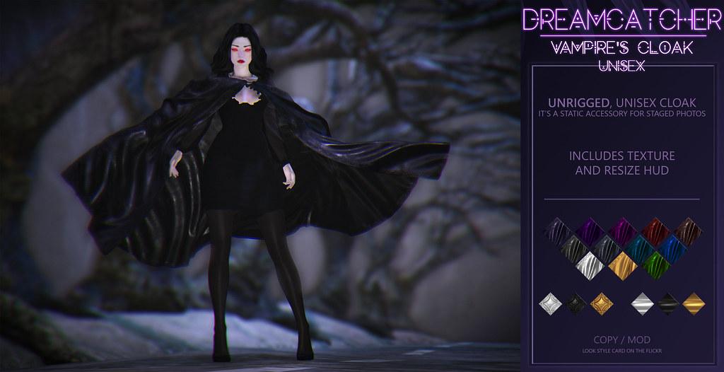 DREAMCATCHER // Vampire's cloak – unisex @ RITUAL