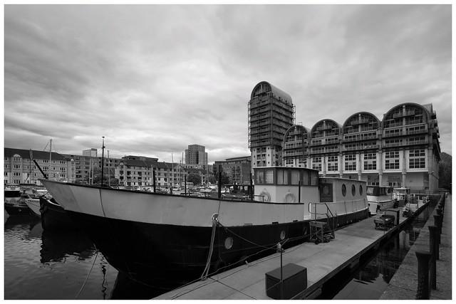 South Dock Under Uncertain Skies