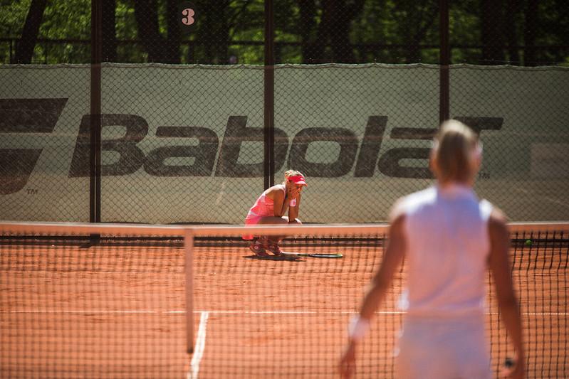 """Starptautiskās ITF pasaules tenisa tūres W25 kategorijas sacensības sievietēm """"Liepaja Open"""" pēdējā, 8.diena. Foto: Mārtiņš Vējš / 8th day (Final day) of ITF Women's World Tennis Tour W25 category """"Liepaja Open"""". Photo: Mārtiņš Vējš"""