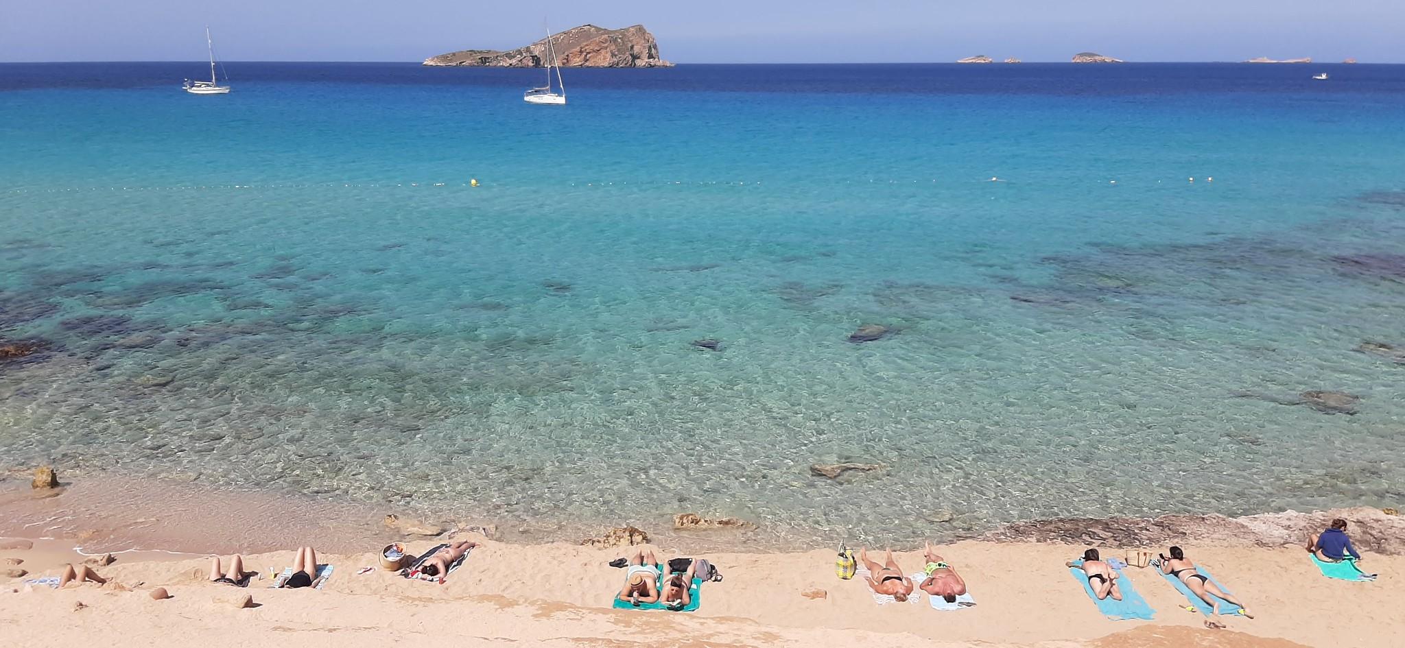 Cala Conta y Cala Escondida, Ibiza, 26 de mayo 2021