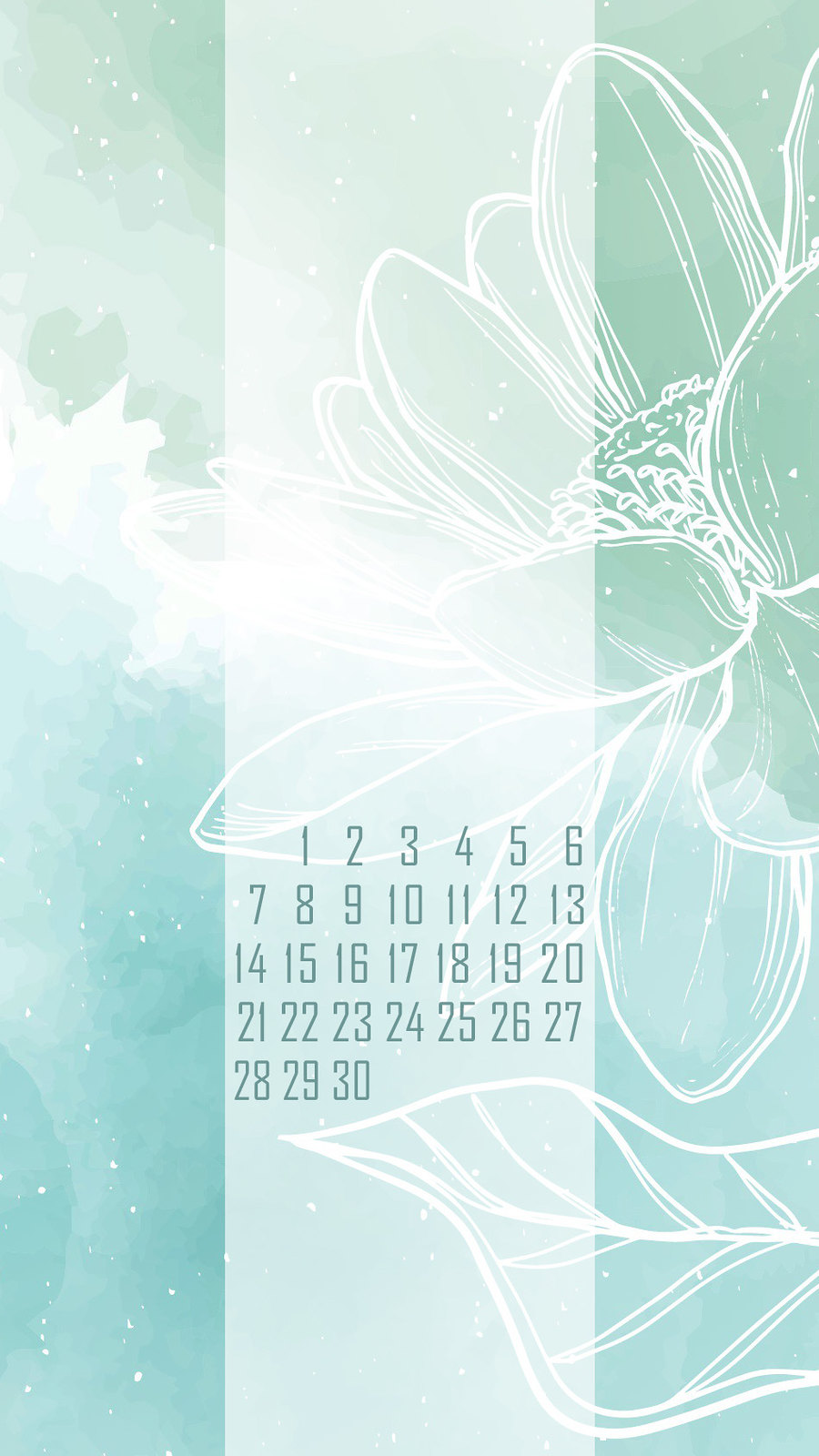 календарь на июнь '21, заставка на смартфон, district-f.org 2