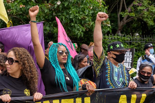Kill the Bill - Black Lives Matter, London, UK