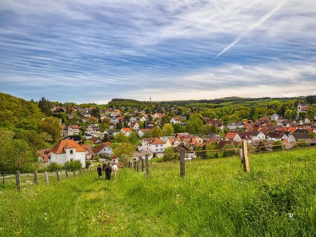 Dorf im Taunus