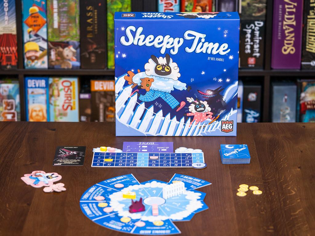 Sheepy Time boardgame juego de mesa