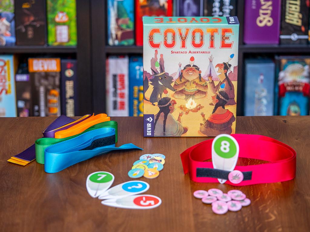 Coyote boardgame juego de mesa