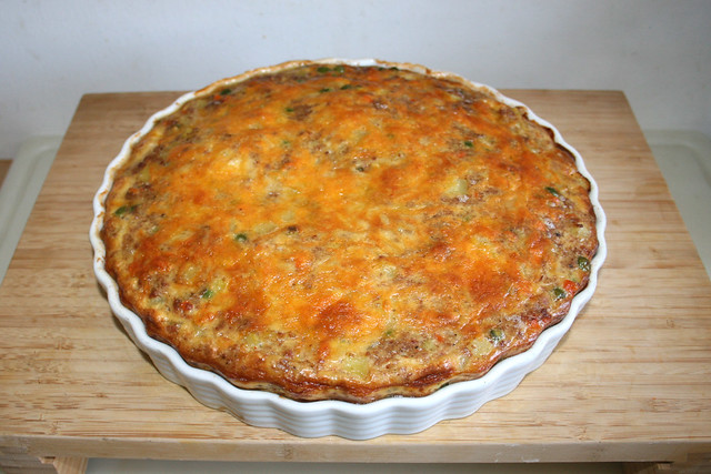 42 - Corned Beef Frittata - Fresh from oven / Frisch aus dem Ofen
