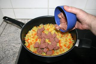 22 - Add corned beef / Corned Beef hinzufügen