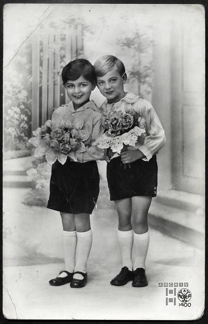 ArchivTappen233A993 Grußkarte, Frankreich, 1920er