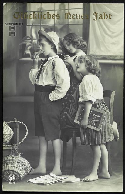 ArchivTappen233A995 Neujahrsgrüße, 22. November 1914