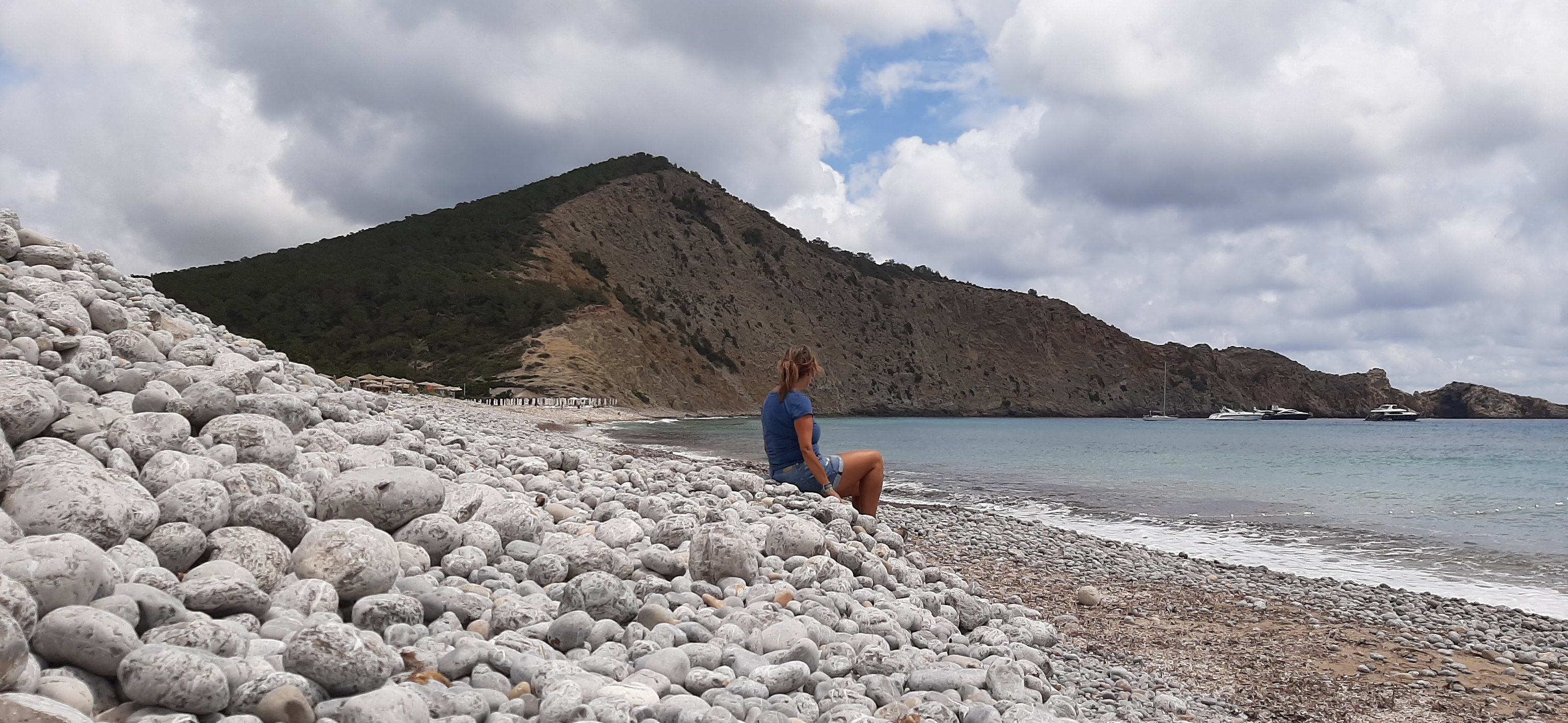 Cala Jondal, Ibiza, 25 de mayo 2021