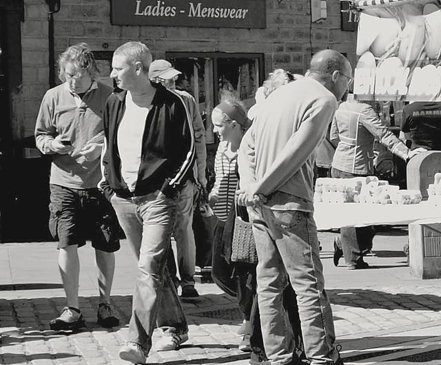Ladies and Menswear at Hebden Bridge, Yorkshire