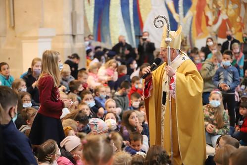 Msza św. dla dzieci w Sanktuarium św. Jana Pawła II