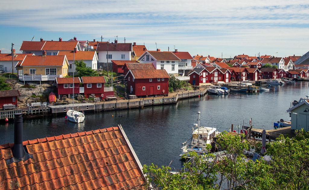 Gullholmen - the north harbor