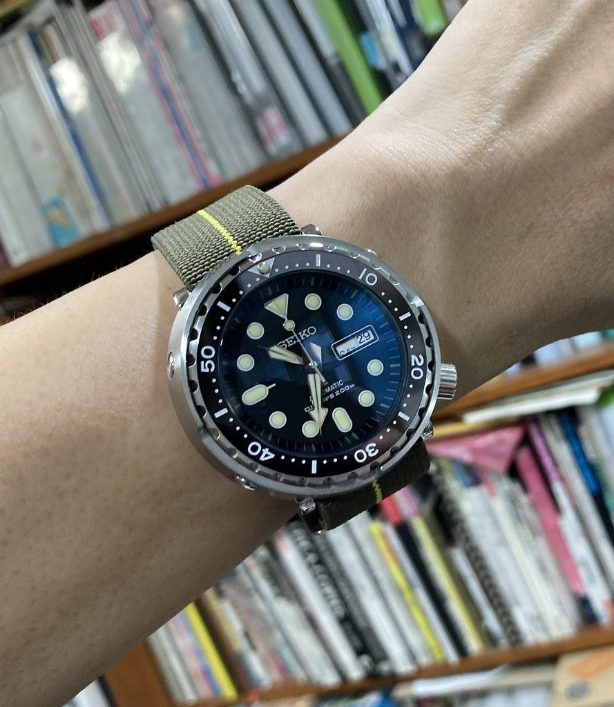 Seiko Tuna my 2nd 2021-05