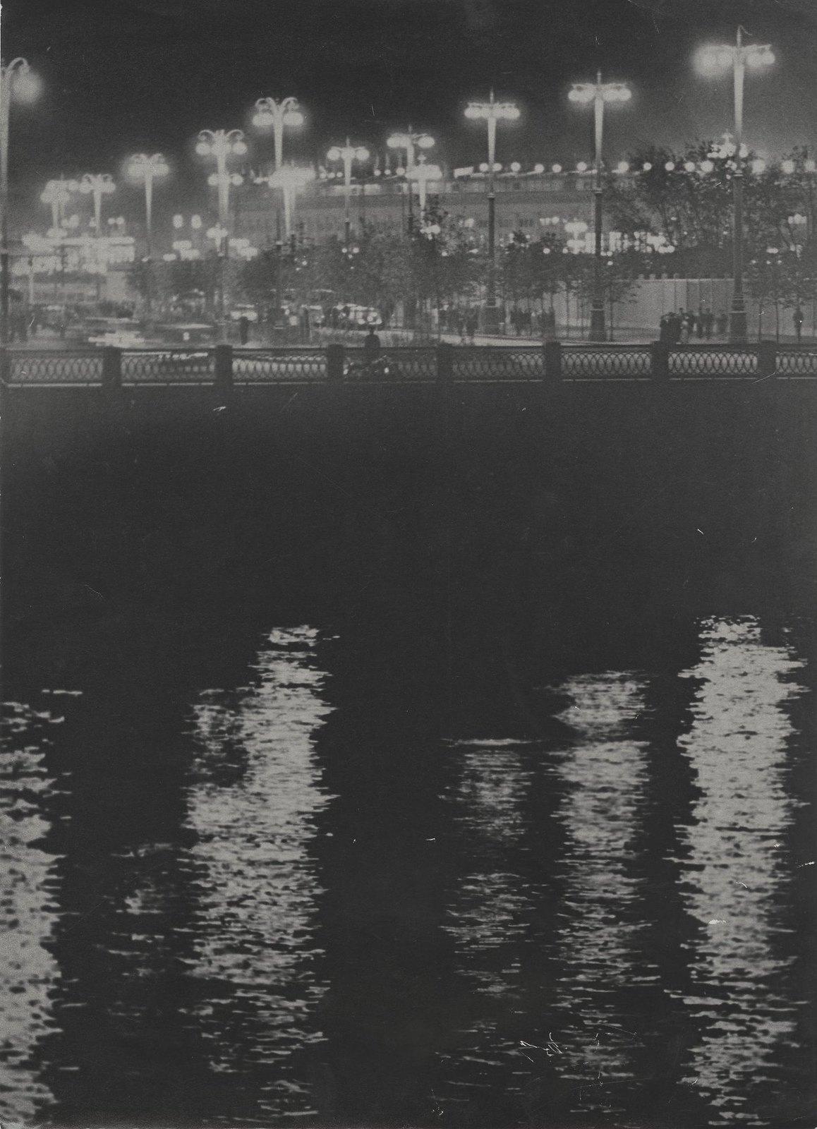 1950-е. Вечерняя Москва