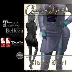 Charisma's Designs - Claire Skirt in Plum