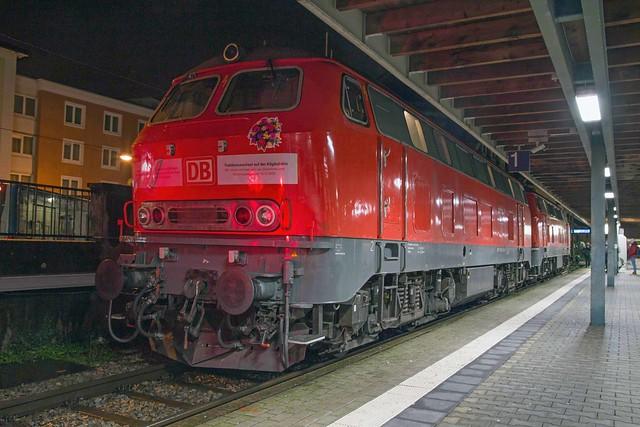 DB 218 452 + 218 430 Lindau Insel