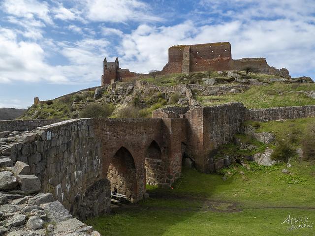Hammershus Castle Ruin, Bornholm 2021