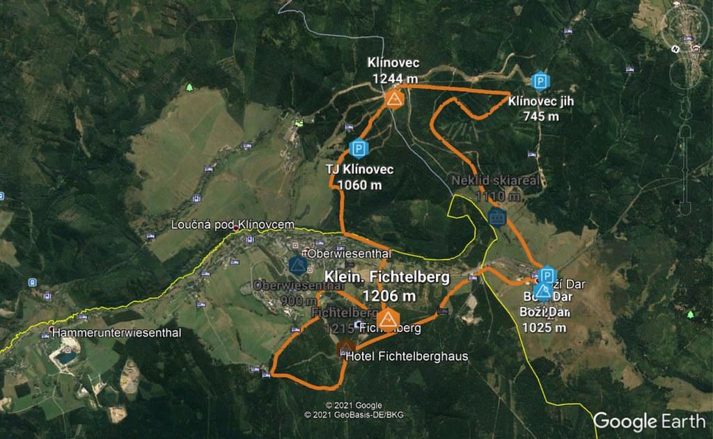 Klínovec - Fichtelberg Krušné hory Tschechien foto 01