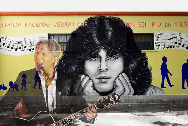 Omaggio a Claudio Baglioni per i suoi 70 anni (tribute to the singer Claudio Baglioni for his 70th birthday)