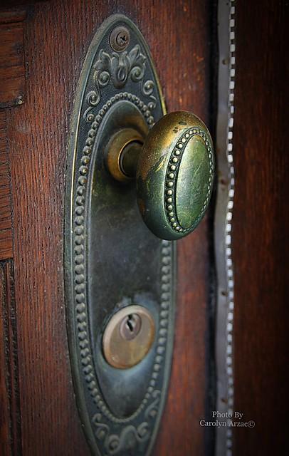 It's the Cahoon Mansion door
