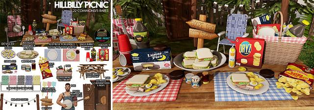 Junk Food - Hillbilly Picnic Gacha Promo