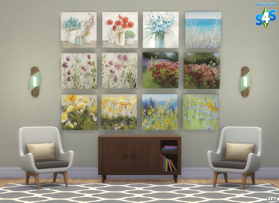 Wildflower Paintings Collection