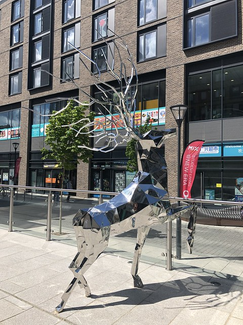 Steel Stag - New Era Square, Sheffield 2021