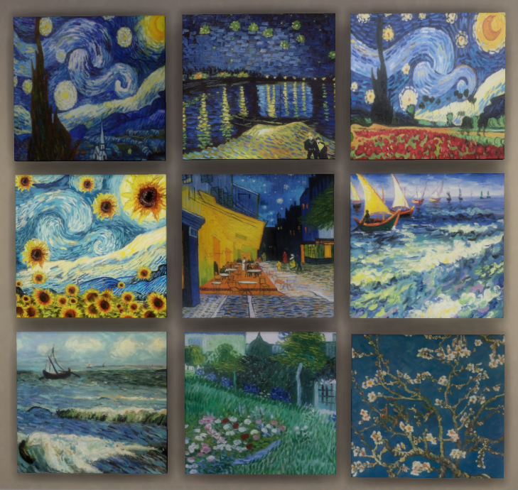 Vincent vanGogh Canvas Paintings