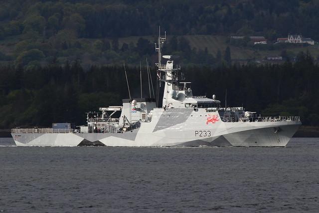 HMS Tamar P233